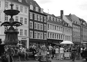 Downtown Copenhagen