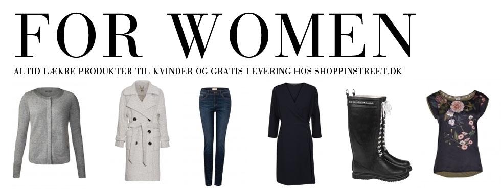 Kvinder modetøj - ShoppinStreet.dk - Indre By